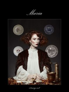 Anachronia by Diliana Florentin, via Behance