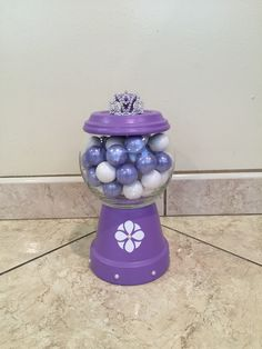 Sofia the first-DIY Gumball Machine