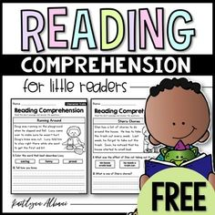 Inside you will find 9 free reading comprehension passages that focus on a variety of reading skills! There is one page included from each of my 9 little readers sets. I hope that you find these to be helpful in your classroom! This resource is perfect to Reading Comprehension Passages, Comprehension Strategies, Reading Fluency, Reading Intervention, Reading Groups, Reading Strategies, Reading Activities, Reading Skills, Guided Reading