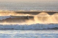 Surfing at Woolacombe beach in North Devon. Devon Beach, Devon Devon, North Devon, Devon Holidays, Holidays In Cornwall, Woolacombe Bay, Surfing, Waves, Adventure
