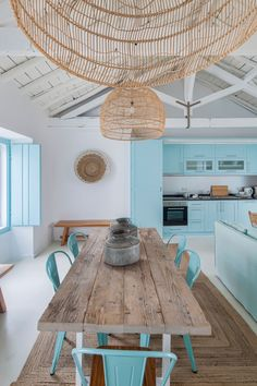 Ligia Casanova - Based in portugal Casaova specialised in residential, as well as some rural tourism and boutique ho - Küchen Design, Home Design, Home Interior Design, Beach House Kitchens, Home Kitchens, Ideas Cabaña, Decor Ideas, Small Beach Houses, Dream Beach Houses