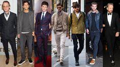 MR PORTER'S MOST STYLISH MEN OF NOVEMBER 2015 Mr Paul Bettany, Mr Fernando Verdasco, Mr Eddie Redmayne, Mr Johannes Huebl, Mr Justin Theroux,     Mr Liam Hemsworth and Mr Alasdhair Willis.
