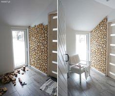 Plastry drewna na ścianie - jak to zrobić samodzielnie? Small Space Interior Design, Home Room Design, Home Interior Design, Earthy Home Decor, Diy Home Decor, Wooden Wall Design, House Rooms, Home Bedroom, Home Decor Inspiration