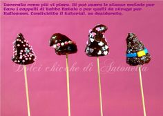 Tutorial cake pops hats hear : http://www.dolcichicchediantonella.com/tutorial/