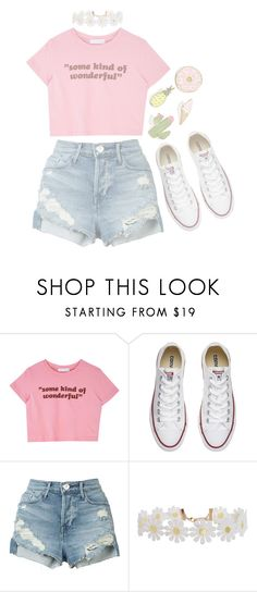 """""""Untitled #82"""" by fiona137 ❤ liked on Polyvore featuring Converse, 3x1, Humble Chic and Celebrate Shop"""