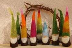 Waldorf Inspired Felted Gnome. $17.00, via Etsy.