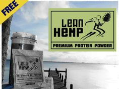 Get your FREE Sample of LeanHemp Protein Powder!