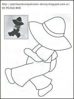 Лоскутная СХЕМЫ = ТОЛЬКО = ВСЕ БЕСПЛАТНО: PATCHWORK СХЕМА = ВАШ рабочий человек