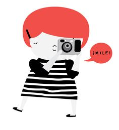 The ginger photographer by Yael Frankel