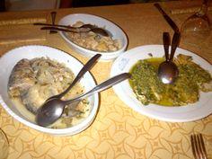 Tasty dishes @ Restaurant Montecodeno in Varenna