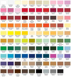 Get Unique Colors Of Americana Through Paint Conversion Chart Pin By Mark Forest On Vintage Bath Colors Car Paint Colors Paint Color Chart Lovetoknow How To Mix Any Color Or…Read more of Painting Color Chart Color Mixing Chart, Paint Color Chart, Paint Charts, Paint Colors, Colour Chart, Nursery Name, Nursery Wall Decor, Girl Nursery, Nursery Letters