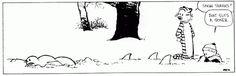 10 Calvin and Hobbes comic strips involving hilariously morbid snowmen.