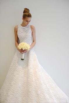 Wedding dress. Silvia Tcherassi Bridal Atelier. Coral Gables, Florida.
