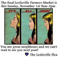 We love you . Final market is Sunday, November to stock up! November 1st, Fleas, Farmer, Sunday, Love You, Marketing, Friends, Amigos, Domingo
