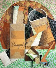 juan gris cubist drawings | Juan Gris Collage