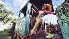 Sheyla in Railroad Yard - Jay Dorfman
