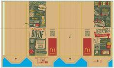 Doll Printies | Fast Food Barbie Food, Doll Food, Happy Meal Box, Box Template Printable, Bakery Packaging, Mini Things, Doll Furniture, Diy Dollhouse, Paper Toys