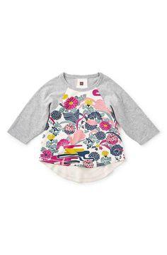 Tea Collection 'Misaki' Graphic Tee (Toddler Girls, Little Girls & Big…