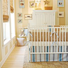 Starlight in Blue Crib Bedding Set