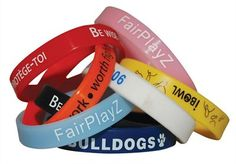 Custom Silicone Wristbands are printed with your logo and offer excellent value for money. Available in both adult and children sized wristbands, they are m