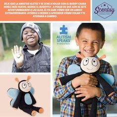 Bernie the Buddyfly is the new Scentsy Cause product supporting Autism Speaks® https://scented4life.scentsy.us/