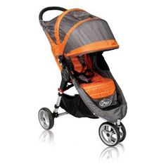 City Mini stroller.  So easy to fold one-handed, rolls really smoothly.