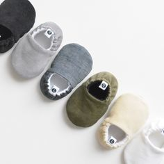 Loafie **Various Colors** // baby shoes, baby slippers, baby booties, baby moccs, crib shoes, new baby, shower gift, baby gift by littleKMD on Etsy https://www.etsy.com/listing/224414252/loafie-various-colors-baby-shoes-baby