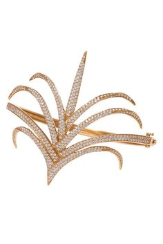 Gold and diamond ring from House of Waris