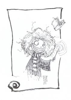 skottie young inks | Hermione by Skottie young (1 Comment)