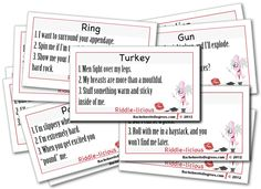 Riddle-licious Dirty Talk Bachelorette Party Game