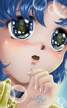 Sailor Mercury by Pillara on deviantART