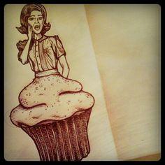Cake illustration...