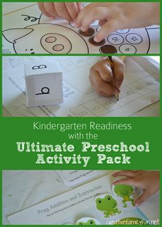 Great way to get kids ready for kindergarten this summer! {Creative Family Fun}