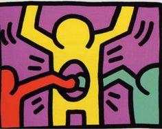 Pop Shop 1 - Keith Haring, 1987