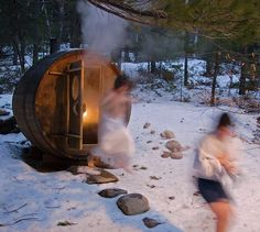 The Finnish sauna (pronounced 'Sow-na') is a substantial part of Finnish culture. There are five million inhabitants and over two million saunas in Finland – an average of one per household. For Finnish people the sauna is.