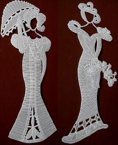 Ofício Pergaminho - lace-like papel senhora---via vsemart.com