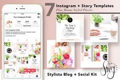 Instagram + Story Templates Stylista  @creativework247