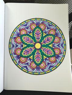 Mystical Mandalas Alberta Hutchinson Page 9 Creative Heaven Coloring Book Sakura