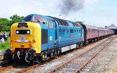 Class 55 Deltic.  Once a trainspotter...