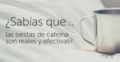 ¿Sabías que... las siestas de cafeína son reales y efectivas?