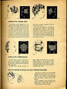 Vintage Hairstyles Curls Beauty is a thing of the past: How to Set Pin Curls 1940s Hairstyles, Curled Hairstyles, Wedding Hairstyles, Historical Hairstyles, Wet Set, Curl Pattern, Wave Pattern, Rockabilly Hair, Hair Setting
