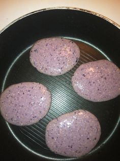 Blueberry Oatmeal Pancakes #cleaneating