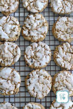 Grandma's Iced Oatmeal Raisin Cookies - Grateful Prayer | Thankful Heart