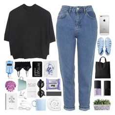 """""""we're just savages"""" by absurd-ambitions ❤ liked on Polyvore featuring Mode, Topshop, NARS Cosmetics, Rosenthal, JuJu, Monki, Brinkhaus, Selfridges, Smashbox und Zara Home"""
