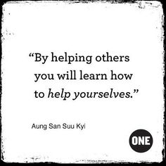 Give to others!