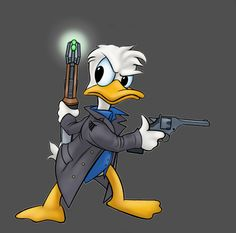 Captain Quack Harkness by virgiliArt on DeviantArt Bugs Bunny Cartoons, Looney Tunes Bugs Bunny, Looney Tunes Cartoons, Green Characters, Disney Characters, Don Rosa, Dagobert Duck, Elmer Fudd, 1970s Cartoons