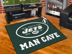 "NFL - New York Jets Man Cave All-Star Mat 33.75""x42.5"""