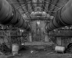 Inside Abandoned Factory - Ottawa, Kansas by DrMarciana, via Flickr Abandoned Castles, Abandoned Buildings, Abandoned Places, Types Of Architecture, Architecture Photo, Ottawa Kansas, Abandoned Factory, Great Photos, Restoration