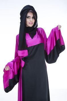 Young Heart Abaya is tailored using satin crepe fabric with a 100% silk accent featuring on the top half of the bodice as well as the sleeves and running down one side of the Abaya. A chiffon hijab accompanies the Abaya.  #abaya  #fashion #muslim #style #KSA #USAmuslim #UKmuslim #EGYPT #Jordan #islamicfashion  #jeddah #hijablover #hijaber #abayalover #abayadesign #hijabmodern #arabdesign #hijaboutfit #jeddahstyle #muslimtrend #muslimstyle #jeddahfashion #abayacollection #عباية #موضة #جدة