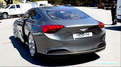 2017 Hyundai Genesis Hcd 14 Concept Engine Sound Driving On The Road